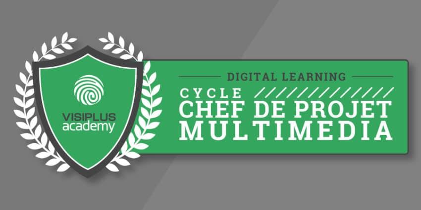Diplôme de chef de projet multimédia décerné par l'Institut Léonard de Vinci.