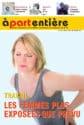Les femmes plus exposées que prévu. A part entiere, le magazine de la Fnath, rédacteur en chef : Pierre Luton