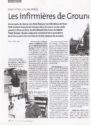 Les infirmières de Ground Zero, une correspondance de Pierre Luton pour l'infirmère magazine.