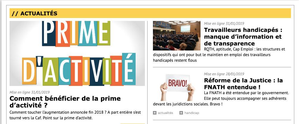 A-part-entiere.fr le magazine online de la Fnath. Prime d'activité comment l'obtenir ?