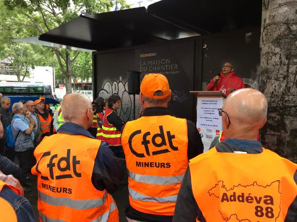 La cause des mineurs et des cheminots a été plaidée le 20 juin 2019 devant la cour de Cassation. La procureure n'a pas suivi les mineurs.