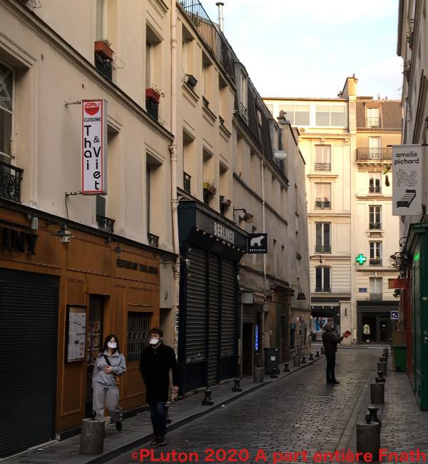 Comment vivre au temps du coronavirus en plein confinement ? Les rues de Paris se sont vidées #RESTEZCHEZVOUS Pierre Luton