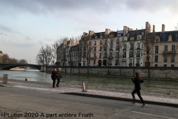 Paris au temps du coronavirus : confinement Jour 1 Pierre Luton ©PLuton2020
