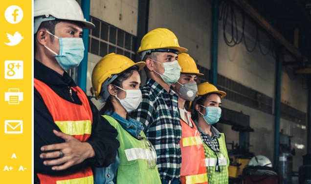 Le ministère du Travail vient d'annoncer la systématisation du port du masque dans les entreprises. Pierre Luton, journaliste, rédacteur en chef d'A part entière, le magazine de la Fnath