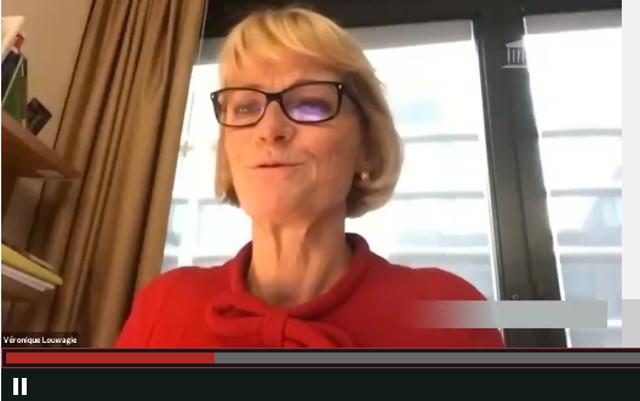 Bilan décevant pour le plan de lutte contre la maladie de Lyme, selon la députée Véronique Louwagie, à l'Assemblée nationale le 3 mars 2021. Auteur : Pierre Luton, journaliste, rédacteur en chef d'A part entière, le magazine de la Fnath.